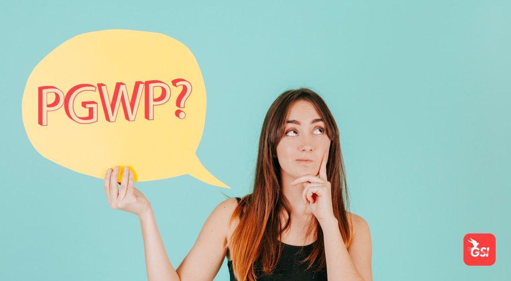 Estudante se perguntando o que é PGWP