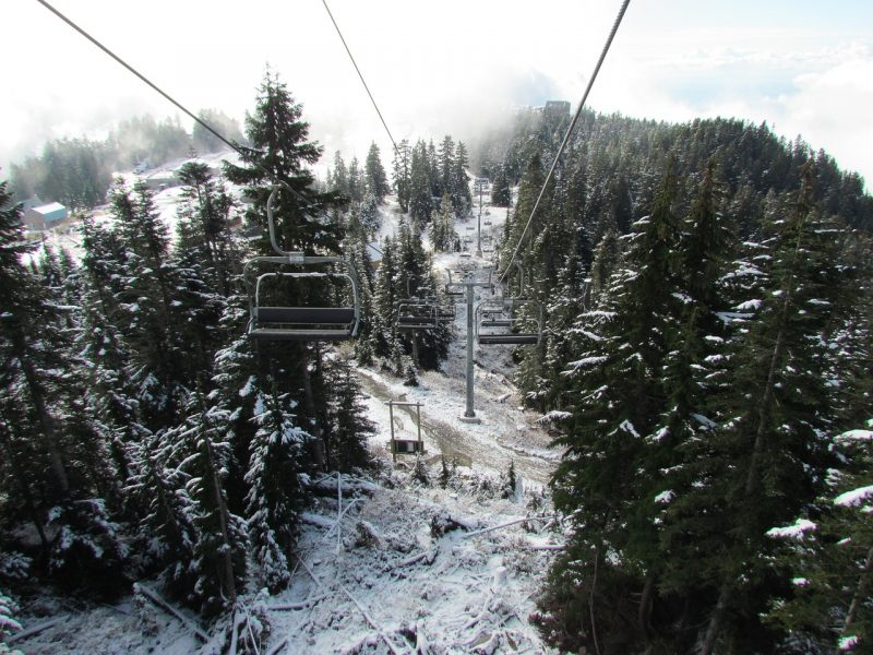 Grouse Mountain Inverno